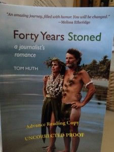 Forty Years Stoned: a journalist's romance will be published by #HeliotropeBooks, NYC, on 4/20/2016. Tom will appear @BoulderBooks on publication date; Boulder Book Store happens to be a fine independent bookstore in downtown Boulder Colorado.